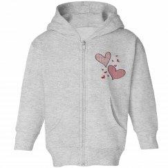 Kids Pink Lovehearts