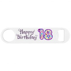 18TH Bottle Opener