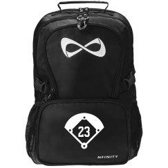 Softball Girl Custom Nfinity Backpack
