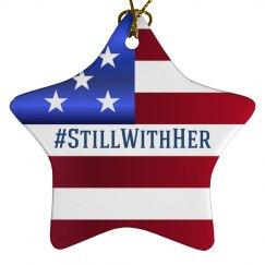 #StillWithHer Holiday Ornament