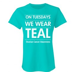 Teal Tuesday Ovarian Cancer