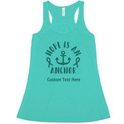 Hope For Ovarian Cancer Shirt