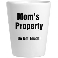 Mom's Property coffee cup