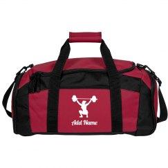 Custom weightlifting bag