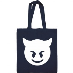 Simple Emoji Devil Bag