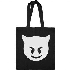 Simple Emoji Devil Bag