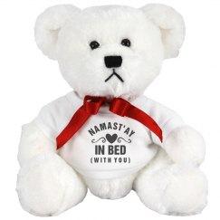 Namast'ay In Bed Bear