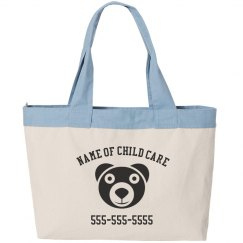 Custom Child care Business Bag