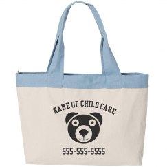 Custom Child care Business Bag