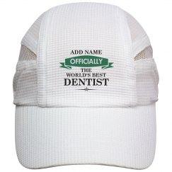 World's best dentist cap