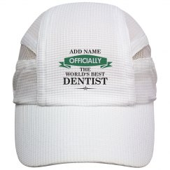 World's best dentist cap