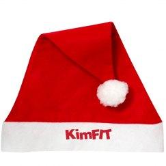 KimFIT Santa hat