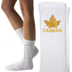 Canada Sports Socks Kids