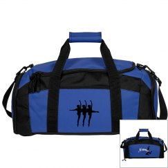 Blue dance bag