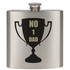 No 1 Dad Flask