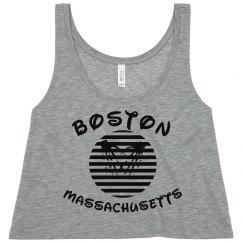 Vintage/Boston MA/Orange