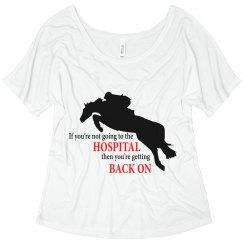 Hunter Jumper: Hospital