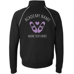 Custom Text Dance School Jacket