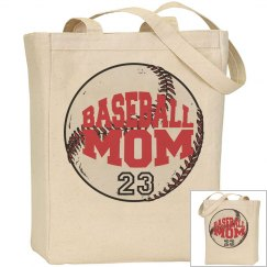 Baseball Mom Tote