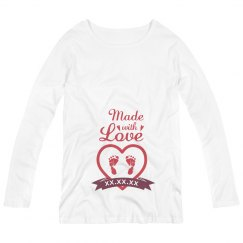 Made With Love Valentine Maternity