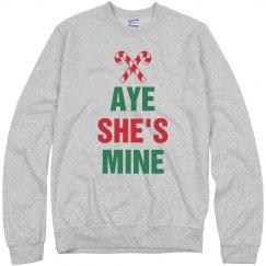 Christmas Aye She's Mine