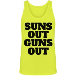 Suns Out Guns Out Guy