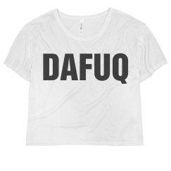 Dafuq Text Top