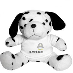 Blissful Igloo Stuffed Dalmatian
