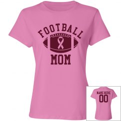 Football Mom Go Pink