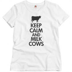 Keep calm and mike cows