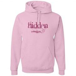 Hidden - Ladies Hoodies - Colossians 3:2-3