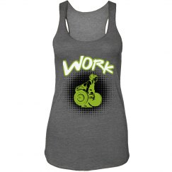 WORK -lime green