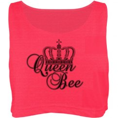 """Queen Bee"" Crop Top"