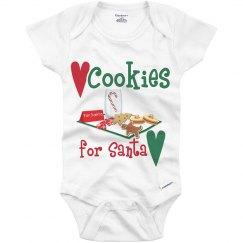 Cookies for Santa Onesie