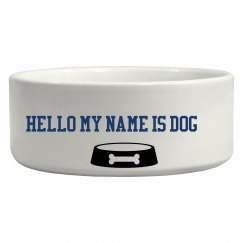 My name is DOG