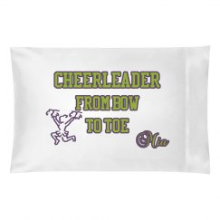 Cheerleader pillow case 2