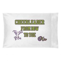 Cheerleader pillow case 2