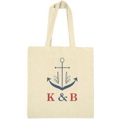 Nautical Anchor Tote Bags