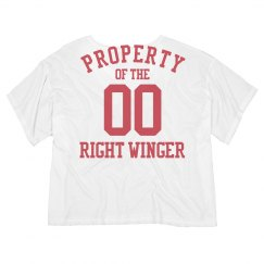 Property of the right winger