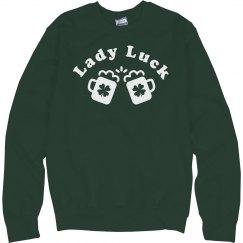 Lady Luck St Patricks Day
