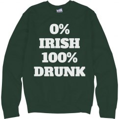 0% Irish Green Fleece