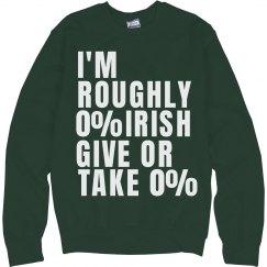 Kiss Me Half Irish
