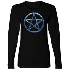 Blue Pentacle Shirt