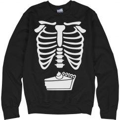 Pumpkin Pie Skeleton