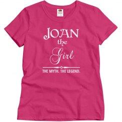 Joan the girl