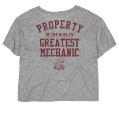 Property of the world's greatest Mechanic