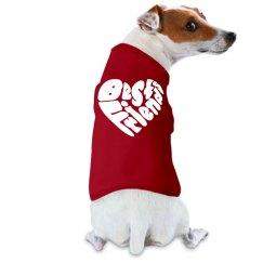 best friends dog tank top