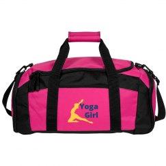 Yoga Girl Duffel Bag