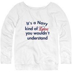 Navy Love Sweater