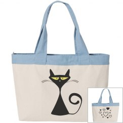 Cool Kitty Tote Bag